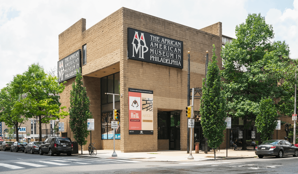 An image of the African American Museum in Philadelphia