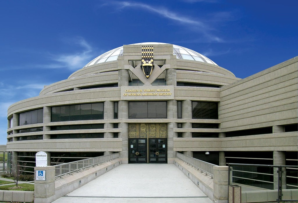 An image of the Charles H. Wright African American History Museum