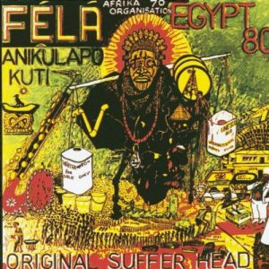 Fela Kuti LP .No copyright infringement intended.Sourced from Pinterest
