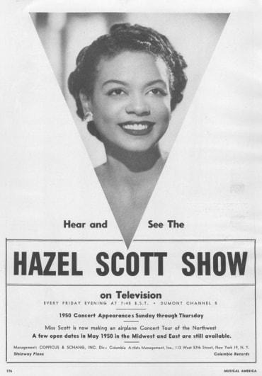 Promotional of the Hazel Scott Show