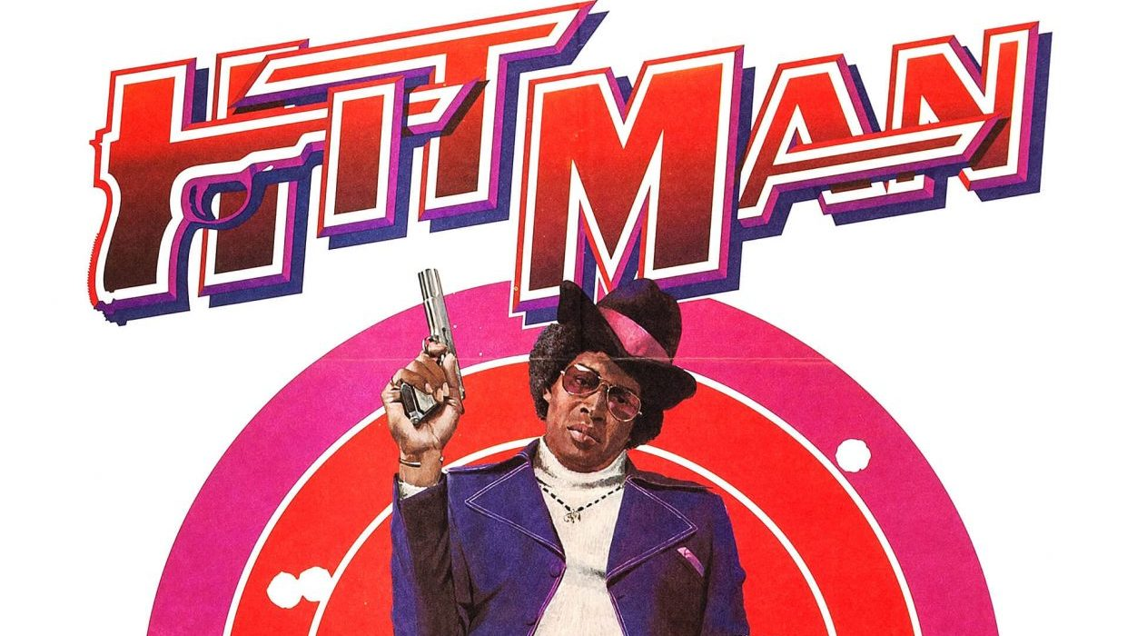 "Poster image of Bernie Casey in the 1972 film, ""Hitman""."