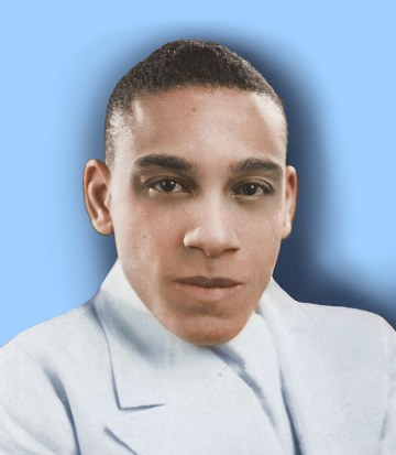 Image of Chick Webb is sourced from Biography - Just the Swing. No copyright infringement intended