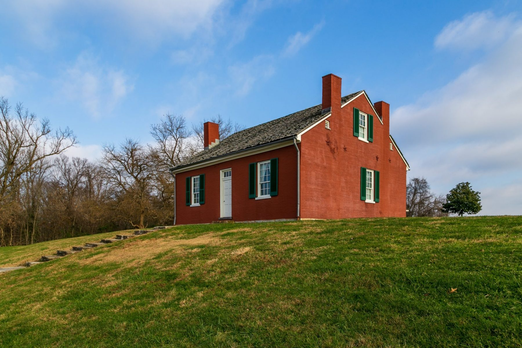 """The family home of abolitionist, John Rankin was a """"station"""" on The Underground Railroad."""