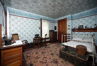 The bedroom of writer, Paul Laurence Dunbar