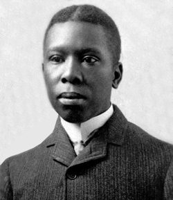 African-American author, poet, librettist and writer Paul Laurence Dunbar