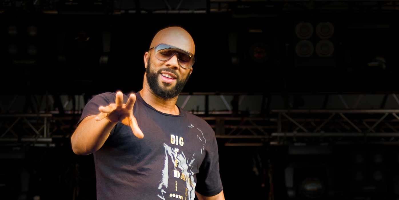 Image of rapper/poet/actor and activist, Common